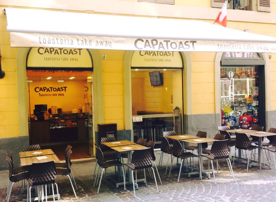 Capatoast in for Arredamento per fast food