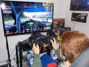 driving simulation center simulatore