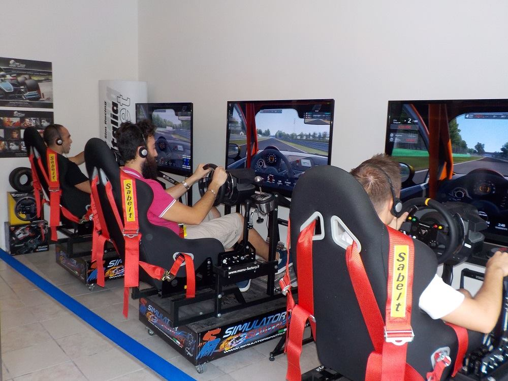 driving simulation center gare